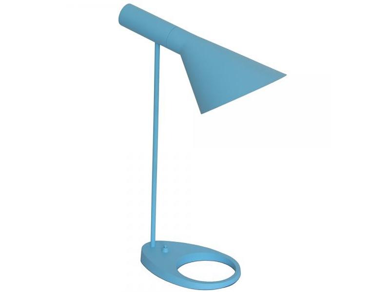 lampe de table aj original bleu. Black Bedroom Furniture Sets. Home Design Ideas