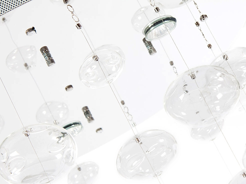 Image de la lampe design Lampe suspension Rain