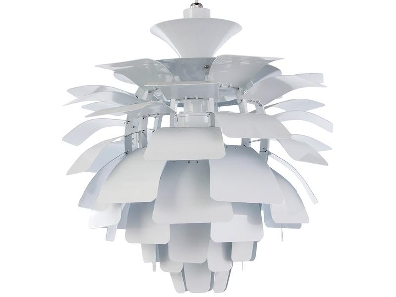 Image de la lampe design Suspension Artichoke L - Blanc