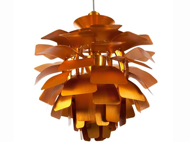 Image de la lampe design Suspension Artichoke M - Or