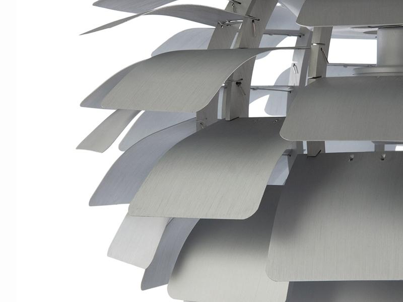 Image de la lampe design Suspension Artichoke S - Argent