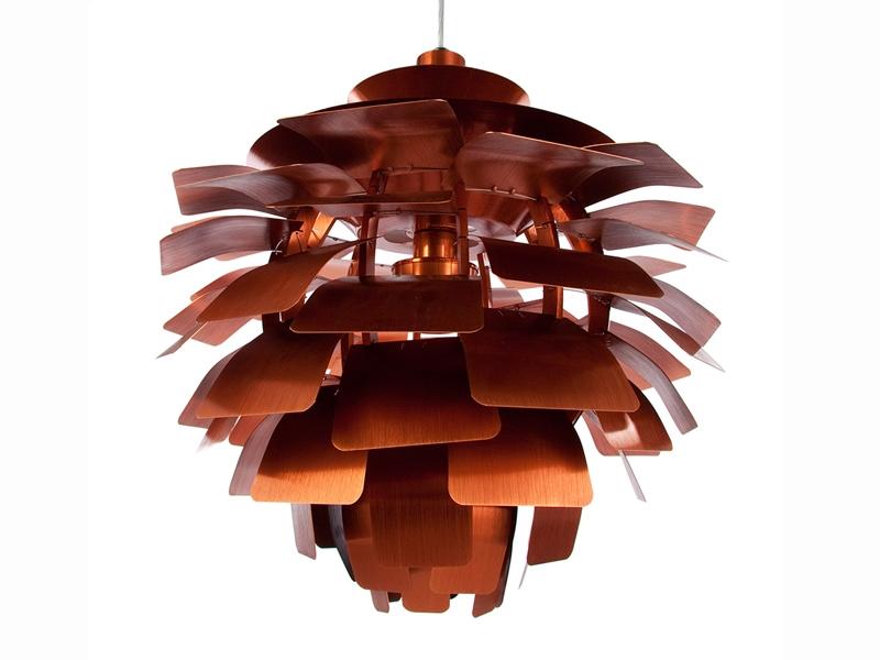 suspension artichoke s cuivre. Black Bedroom Furniture Sets. Home Design Ideas