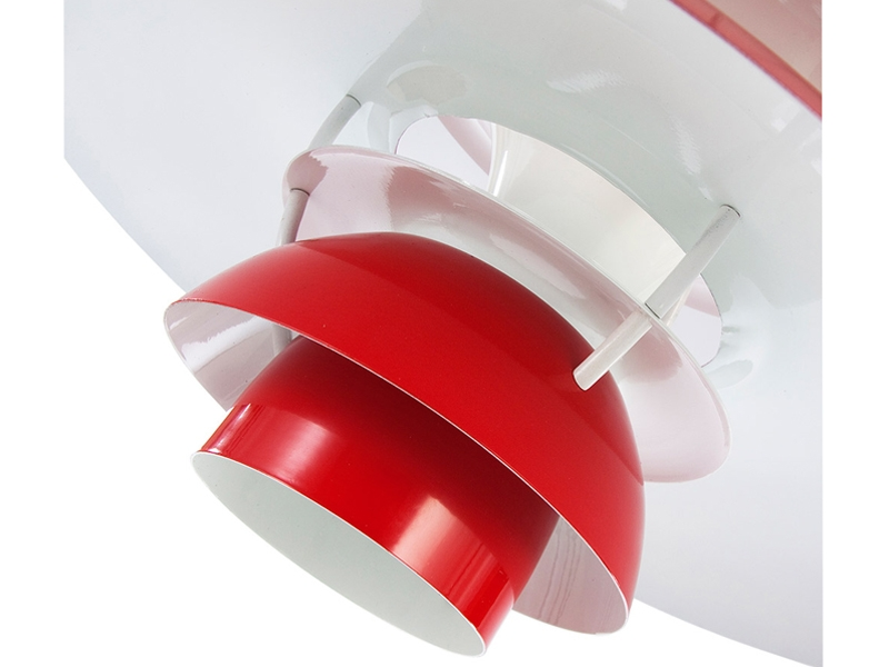 Suspension ph5 rouge - Lampe suspension rouge ...