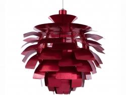 Image de la lampe design Lampada a sospensione Artichoke M - Rosso
