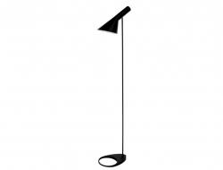 Image de la lampe design Lampe de Sol AJ Original - Noir