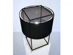 Image de la lampe design Lampe de Table Lewit M - Noir