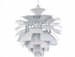 Image de la lampe design Suspension Artichoke M - Blanc