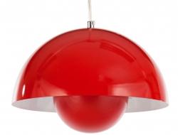 Image de la lampe design Suspension Panton Flowerpot - Rouge