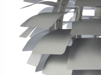 Image de la lampe design Suspension Artichoke L - Argent