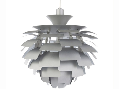Image de la lampe design Lampada a sospensione Artichoke M - Argento