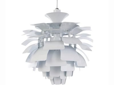 Image de la lampe design Lampada a sospensione Artichoke M - Bianco