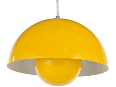 Image de la lampe design Lampada a sospensione Flowerpot - Giallo
