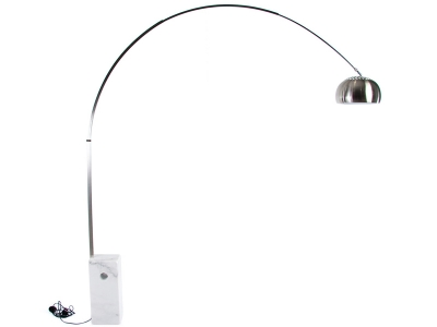 Image de la lampe design Lampada da terra Arco - Marmo bianco