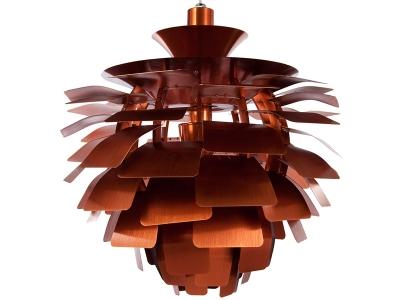 Image de la lampe design Suspension Artichoke L - Cuivre