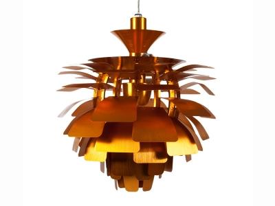 Image de la lampe design Suspension Artichoke S - Or