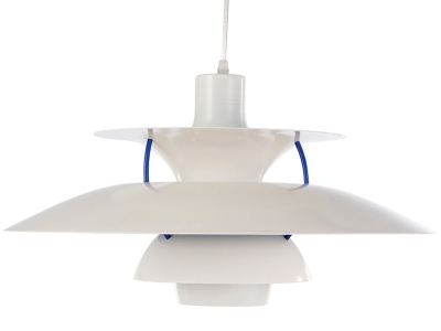 Image de la lampe design Suspension PH5 - Blanc