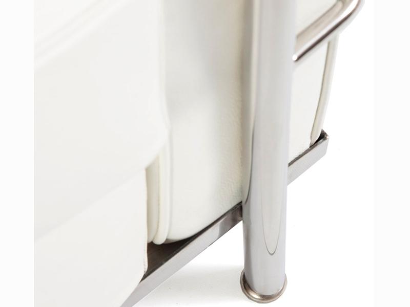 Image du mobilier design LC2 Le Corbusier 2 plazas - Blanco