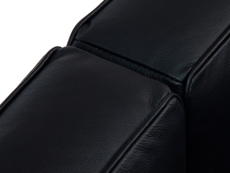 Image du mobilier design LC2 Le Corbusier 2 Plazas - Negro