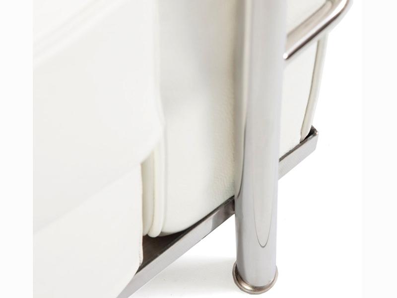 Image du mobilier design LC2 Le Corbusier 3 plazas - Blanco