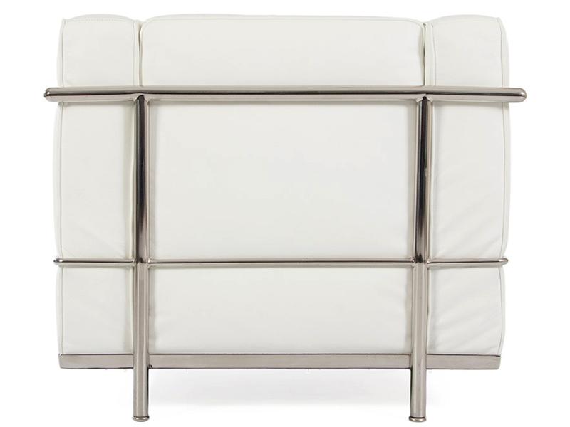 Image du mobilier design LC2 Sillón Le Corbusier - Blanco