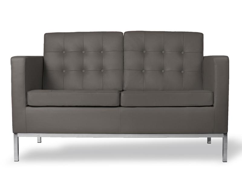Image du mobilier design Lounge Knoll 2 Plazas - Gris