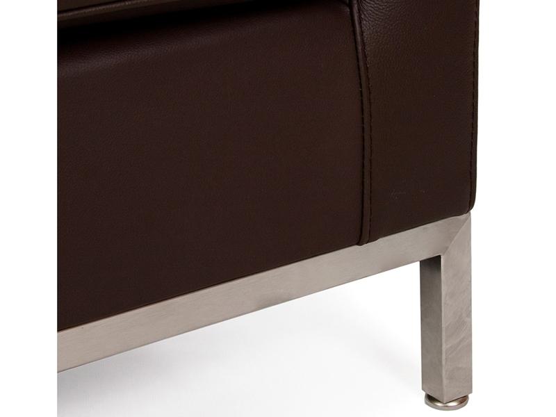 Image du mobilier design Lounge Knoll 3 Plazas - Marrón