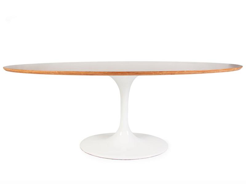 mesa oval tulip saarinen. Black Bedroom Furniture Sets. Home Design Ideas