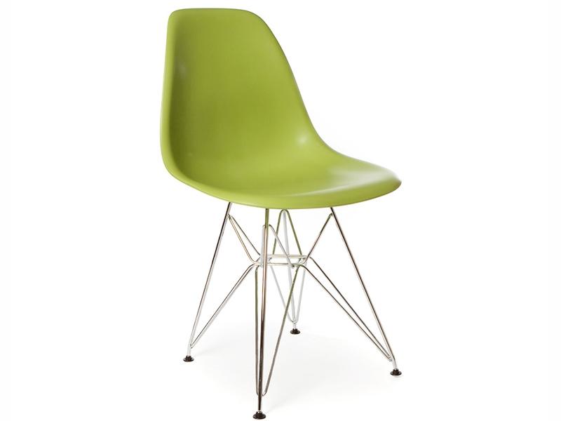Mesa redonda eiffel con 4 sillas for Mesa redonda con sillas