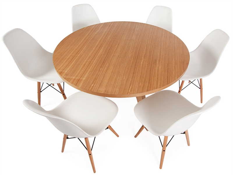 Mesa redonda prouv con 6 sillas - Mesa redonda con sillas ...