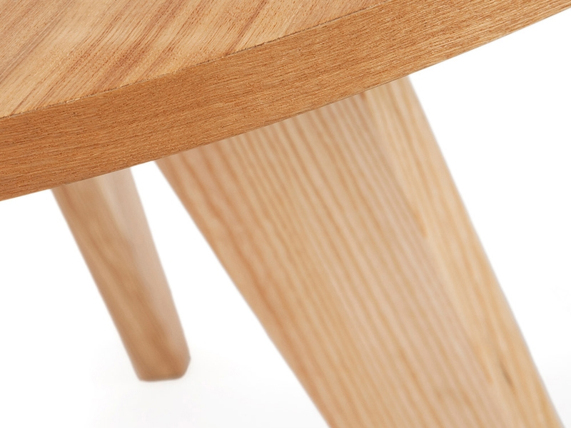 Image du mobilier design Mesa redonda Prouvé con 6 sillas