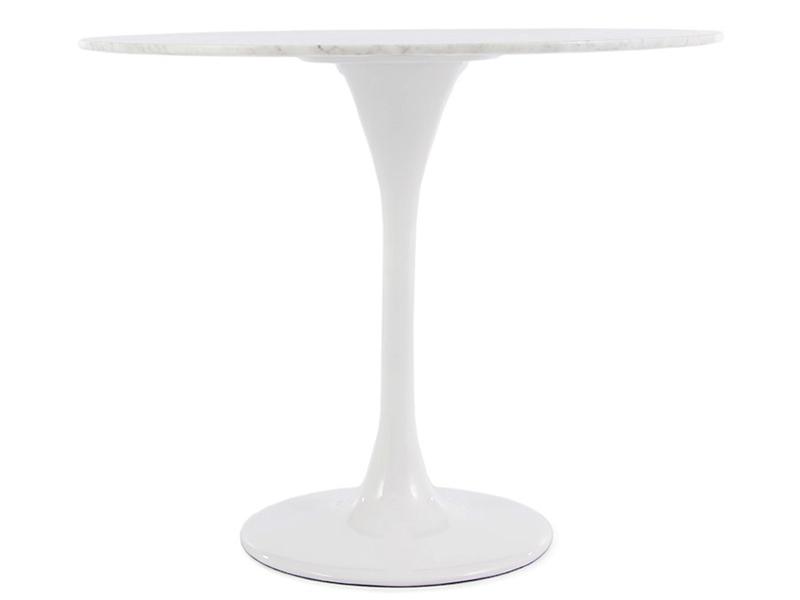 Image du mobilier design Mesa Tulip Saarinen con 2 sillas