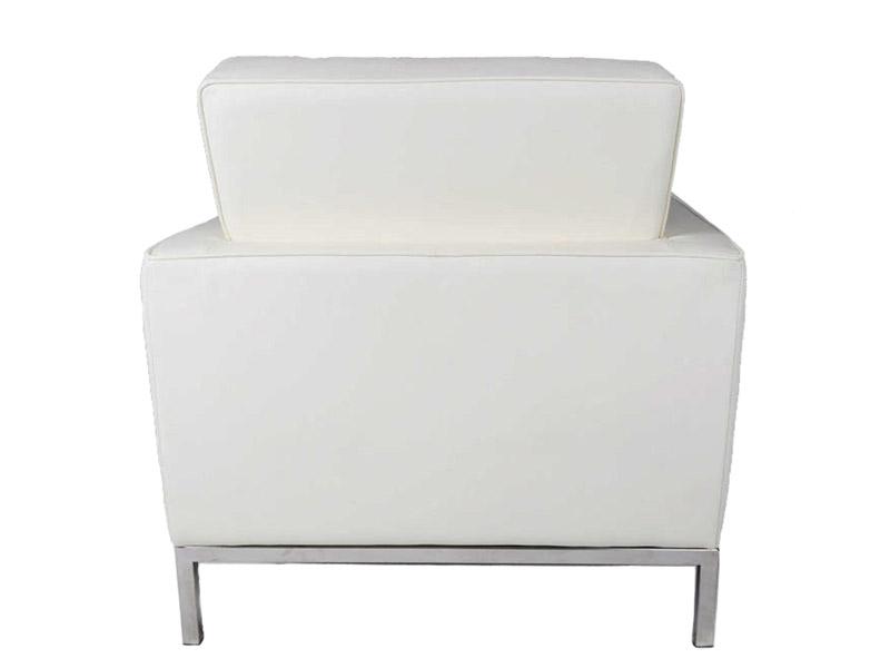 Image du mobilier design Sillón Lounge Knoll - Blanco