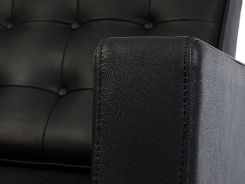 Image du mobilier design Sillón Lounge Knoll - Negro