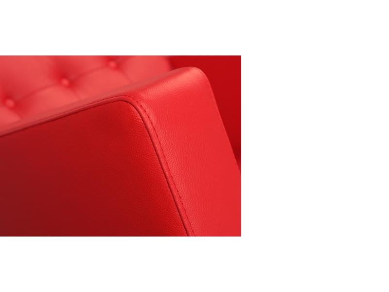 Image du mobilier design Sillón Lounge Knoll - Rojo