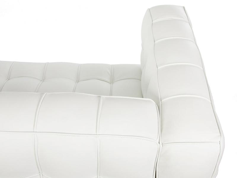 Image du mobilier design Sofá Kubus 2 Plazas - Blanco