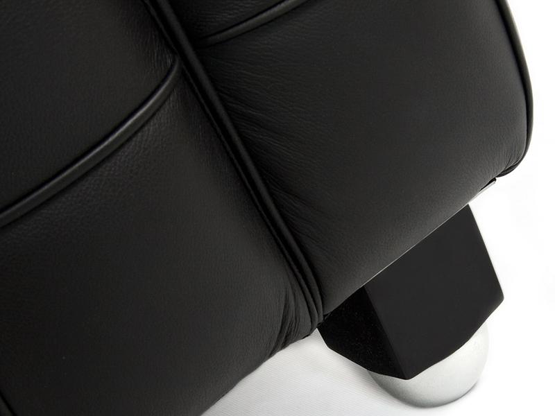 Image du mobilier design Sofá Kubus 2 Plazas - Negro