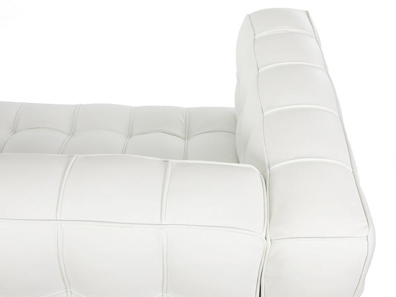 Image du mobilier design Sofá Kubus 3 Plazas - Blanco