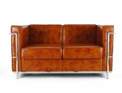 Image du mobilier design LC2 Le Corbusier 2 plazas - Caramelo