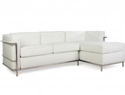 Image du mobilier design LC2 Sofá de la esquina Le Corbusier - Blanco