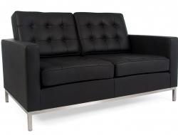 Image du mobilier design Lounge Knoll 2 Plazas - Negro