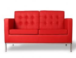 Image du mobilier design Lounge Knoll 2 Plazas - Rojo