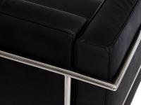 Image du mobilier design COSY2 Sofá de la esquina - Negro