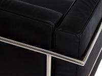 Image du mobilier design COSY3 3 plazas Large - Negro