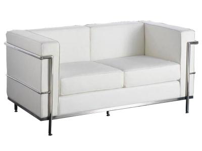 Image du mobilier design LC2 Le Corbusier - Blanco