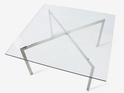 Image du mobilier design Mesa de café Barcelona - 90 x 90 cm