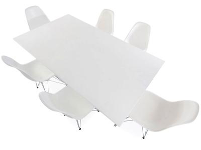 Image du mobilier design Mesa Eames Contract y 6 sillas