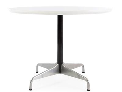 Image du mobilier design Mesa redonda Eames Contract - Blanco