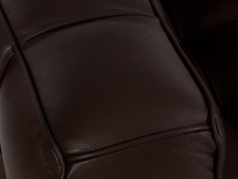 Image du mobilier design Canapé Kubus 3 Places - Marron