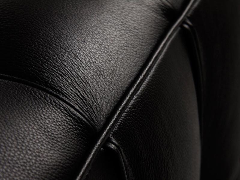 Image du mobilier design Canapé Kubus 3 Places - Noir