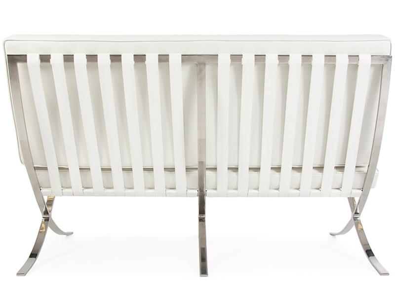 Image du mobilier design Divano Barcelona 2 posti - Bianco